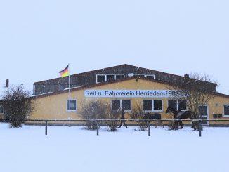 Reit- und Fahrverein Herrieden im Schnee